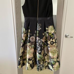 Ted Baker midi dress/ gown